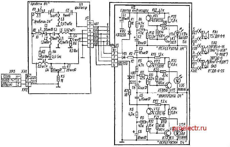 Радиотехника S-100B 35АС-012