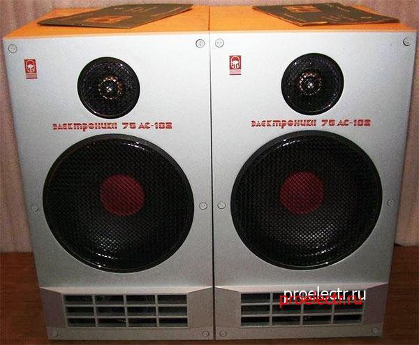 Электроника 75АС-102