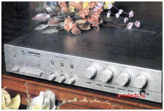 Электроника У-104-стерео