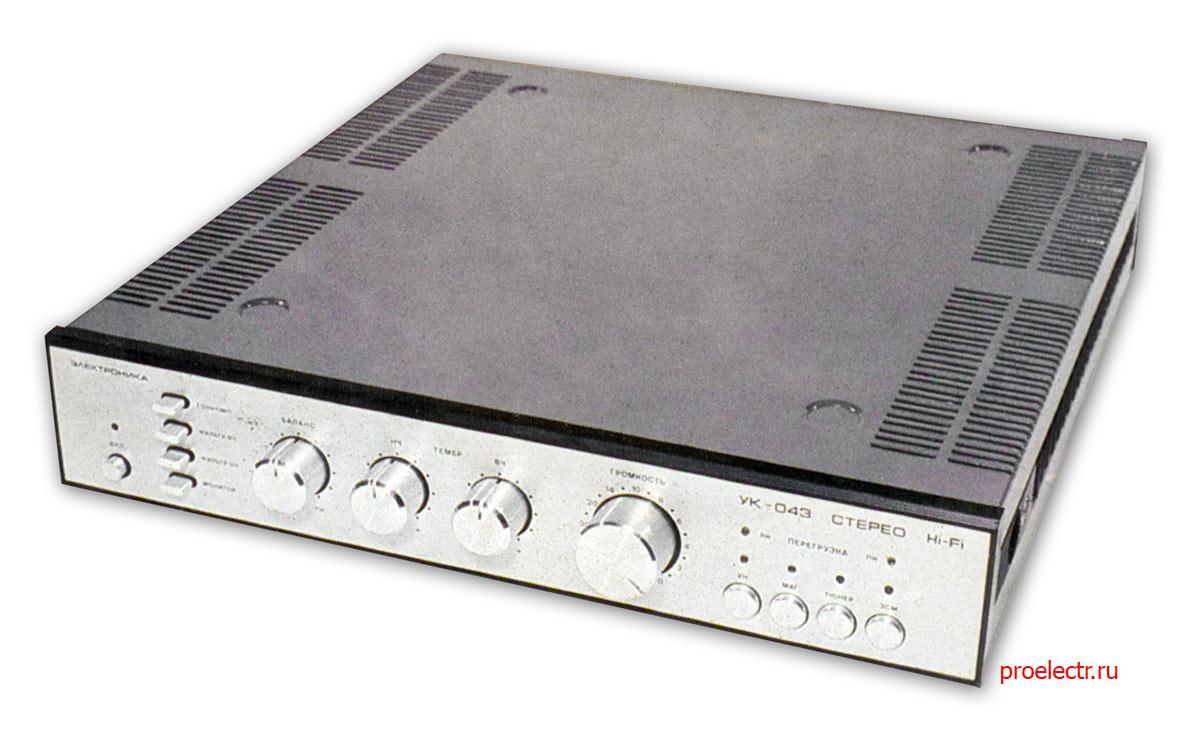Электроника УК-043-стерео