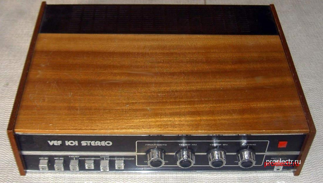 VEF 101-stereo