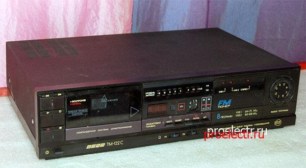 Стереофонический кассивер Вега ТМ-122С